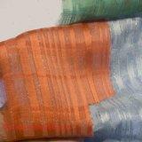 Покрашенная ткань полиэфира жаккарда для ткани химиката тканья дома платья женщины