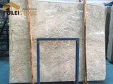 白いオニックスの平板の灰色のオニックス大理石の平板