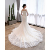 ترويب نحيلة [مرميد] طويلة طويلة خاصّ بالأزهار/بول زفافيّ عرس ثوب