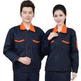 Vestiti poco costosi uniformi dell'uniforme dei rivestimenti del lavoro del Workwear degli uomini della fabbrica