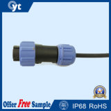 IP67는 M8 2pin 남성 LED 케이블 연결관을 방수 처리한다