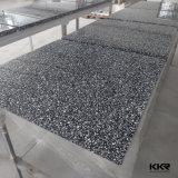 Vectores superficiales sólidos de mármol cultivados del cuadrado de la corte de los alimentos de preparación rápida