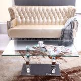 현대 디자인 유리제 소파 커피용 탁자 센터 테이블