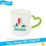 Taza imprimible de la foto del diseño de taza del traspaso térmico