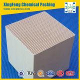 Honeycomb Ceramic Catalyst Carrier en tant que convertisseur catalytique d'émission automobile