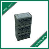 Weißer Kubikwellpappen-Kasten mit kundenspezifischem Drucken
