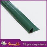 Guarnição arredondada quarto da telha cerâmica do PVC para a afiação