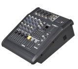 Áudio portátil do misturador da potência de 4 canaletas mini com 150W