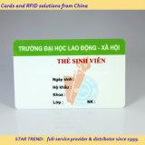 Tarjeta del servicio Emergency hecha del PVC con la raya magnética (ISO 7811)
