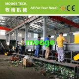 1000のkg/hライン機械をリサイクルするプラスチックペットばねのびん洗浄