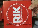 Mitsubishi Excavador Motor Genunie 6D16 Rik Piston Ring (Número de parte: 20281A / Rik)
