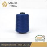 Hoog Eind oeko-Tex Naaiende Draad van 100% 60/2 de Milieuvriendelijke Polyester Dyned