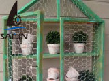 Sailin는 치킨 와이어 직류 전기를 통하고 PVC 정원 메시를 위한 입히는