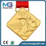 Qualität kundenspezifische Medaille des Metall3d