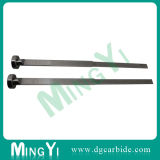 CNC Machining Nitrided Cartucho retangular Stepped Ejector Pin