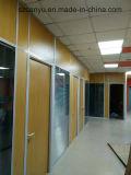 Projeto de parede de partição de madeira da oficina independente de China WPC