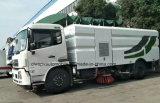Dongfeng 4X2 12m3 Qualitäts-Straßen-waschender LKW 12000 L Straßen-Kehrmaschine