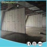 La casa prefabricada ligera rindió el revestimiento del poliestireno para la partición del revestimiento de madera de la pared interior