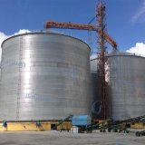 Silo de aço galvanizado do armazenamento da grão para o armazenamento do tempo mais longo