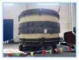 Gewölbtes Rohr für Entwässerungssystem