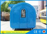 Chariots mobiles de nourriture de stalle spacieuse d'hamburger de Ys-Bf300c à vendre