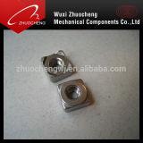 Verzinkte DIN557 Kohlenstoffstahl-Vierkantmutter