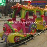 Поезд напольных детей электрический с крышкой дождя