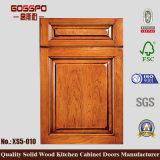 Porta de balanço do gabinete de cozinha da madeira contínua (GSP5-020)