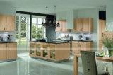 Modules de cuisine bon marché de PVC de Module de cuisine d'usine à haute brillance