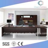 Credenzaが付いている管理の端の机のオフィス用家具