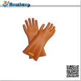 Luvas de borracha do trabalho da mão tamanho resistente ao calor barato do preço do grande