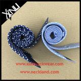 Costume Handmade laço de seda animal pequeno impresso para homens