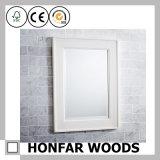 Рамка зеркала декоративного Whit ванной комнаты законченный деревянная