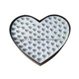 Caixa empolando dada forma coração do chocolate da grade da caixa 27 do chocolate