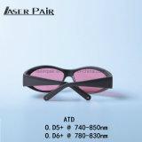 Più nuovi occhiali di protezione 2017 di sicurezza degli occhiali di protezione del laser del Ce Atd 740-850nm per il laser del diodo del Alexandrite 808nm tutta la macchina di rimozione dei capelli di generi da vendere