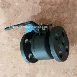 API602 150lbは鋼鉄A105フランジの接続の端の球弁を造った
