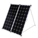 (2PCS X100W) el panel solar del silicio monocristalino plegable 200W