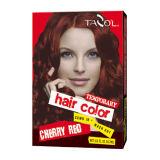 Creme provisório da cor do cabelo dos estilos de cabelo