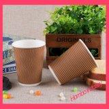 Taza de papel impresa modificada para requisitos particulares para el café caliente