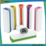 Mini chargeur de mobile de chargeur de batterie du côté USB de pouvoir du Portable 2000mAh