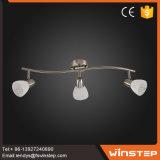 Nuevo diseño moderno de hierro y vidrio Lámpara de proyector LED para los estilos de decoración para el hogar