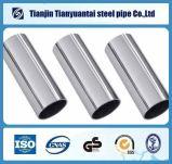 Het Roestvrij staal van Od38mm ERW om Kwaliteit 304 van de Buis ASTM A554