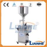 Máquina de llenado líquido semi automático para crema / ungüento / bebida
