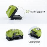 ABS de Plastic Koplamp van de Last USB met het OpenluchtLicht van de Sensor van de Motie