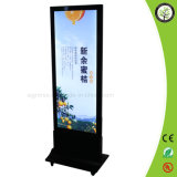 Roulettes Déplacer le Billboard Slim Magnetic Light Box