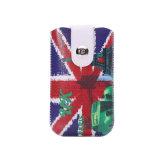 Tirer la caisse universelle de téléphone de poche de chemise de languette pour l'iPhone 6