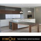 Abitudine impiallacciata naturale operata Tivo-0227h di Cabinetry delle unità della cucina