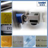 Fabbrica di vetro di legno industriale della stampante della data del laser della fibra del Meta di velocità veloce
