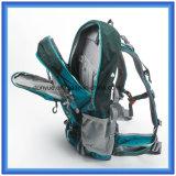 Le sac à dos de hausse imperméable à l'eau personnalisé le plus neuf, sac à dos s'élevant en nylon de polyester, sac campant de sac à dos de course de sports en plein air