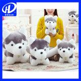 Mini Husky felpa perro de juguete de regalo para bebés Animal relleno lindo 18cm mejores juguetes